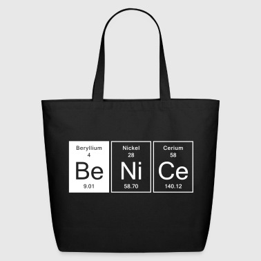 Nice - Be Nice - Eco-Friendly Cotton Tote