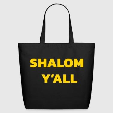 Shalom Y'all - Eco-Friendly Cotton Tote