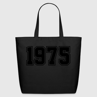 1975 | Year of Birth | Birth Year | Birthday - Eco-Friendly Cotton Tote