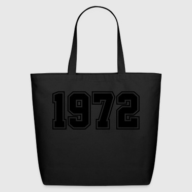 1972 | Year of Birth | Birth Year | Birthday - Eco-Friendly Cotton Tote