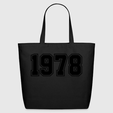1978 | Year of Birth | Birth Year | Birthday - Eco-Friendly Cotton Tote
