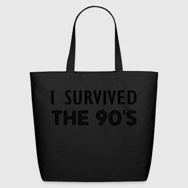 the 90s - Eco-Friendly Cotton Tote