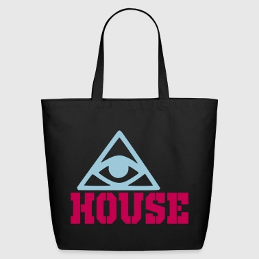 house - Eco-Friendly Cotton Tote