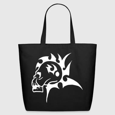 Mohawk Skull - Eco-Friendly Cotton Tote
