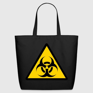 bio warning - Eco-Friendly Cotton Tote