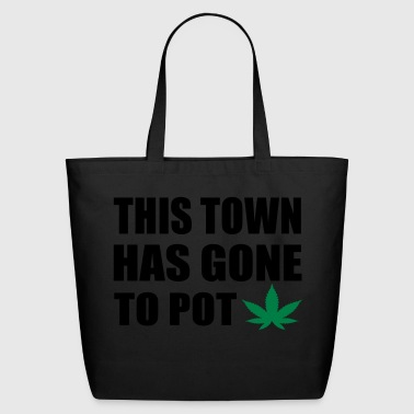 this tow has gone to pot - Eco-Friendly Cotton Tote