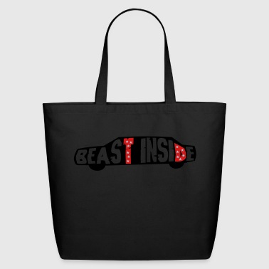 Beast Inside - Eco-Friendly Cotton Tote