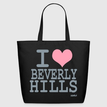 Beverly Hills i love beverly hills by wam - Eco-Friendly Cotton Tote