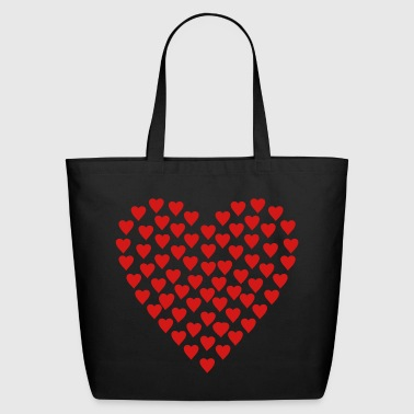 Heart - Eco-Friendly Cotton Tote