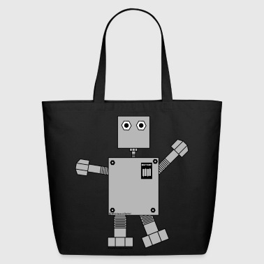 Robot - Eco-Friendly Cotton Tote