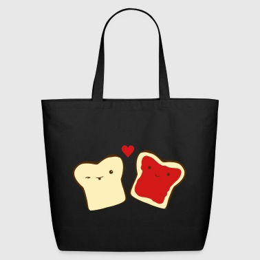 toast in love - Eco-Friendly Cotton Tote