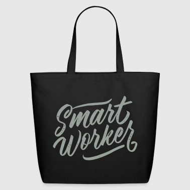 Smart Worker - Eco-Friendly Cotton Tote