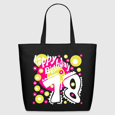 18 Years Birthday T-Shirt - Eco-Friendly Cotton Tote