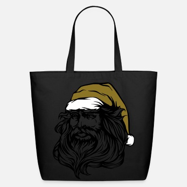 Santa Claus with hat - Eco-Friendly Cotton Tote