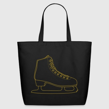 ICE-SKATE figure skating - Eco-Friendly Cotton Tote