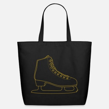 Ice ICE-SKATE figure skating - Eco-Friendly Cotton Tote