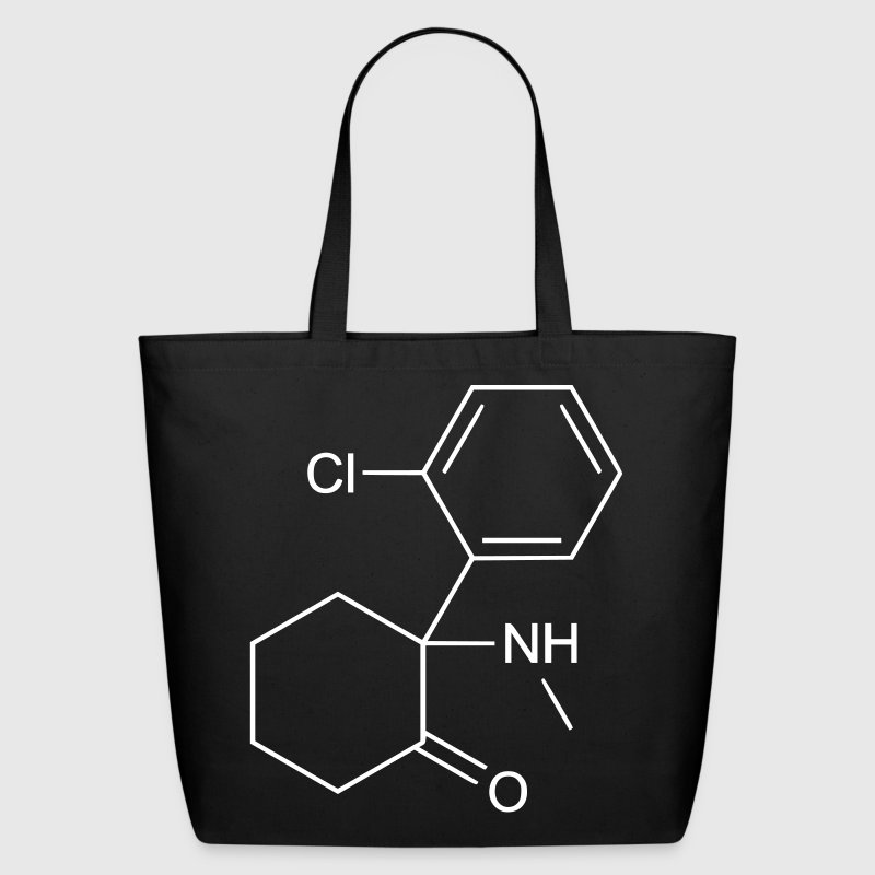 Ketamine  - Eco-Friendly Cotton Tote