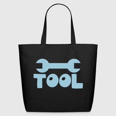 TOOL with a spanner good for a stupid mechanic?  - Eco-Friendly Cotton Tote