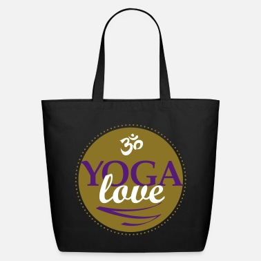YOGA LOVE - Eco-Friendly Cotton Tote