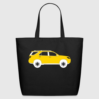 Sports Utility Vehicle - Eco-Friendly Cotton Tote