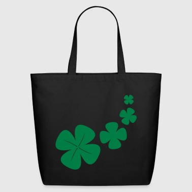 four-leaf clover as a lucky symbol - Eco-Friendly Cotton Tote