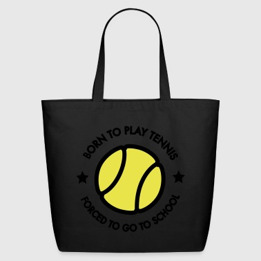 tennis - Eco-Friendly Cotton Tote