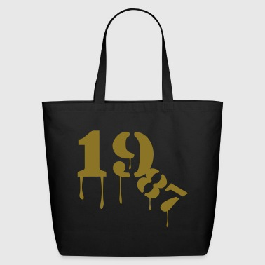 1987_birthday_year - Eco-Friendly Cotton Tote