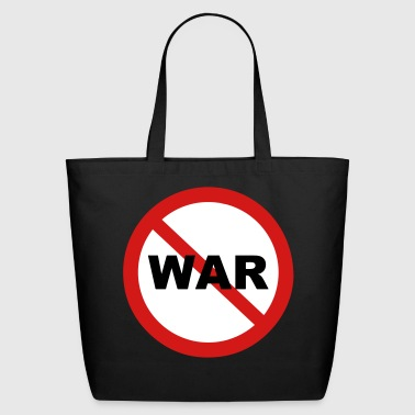 Stop War Sign - Eco-Friendly Cotton Tote