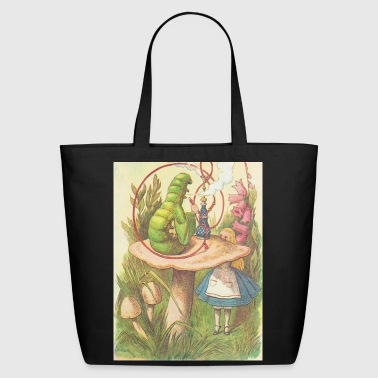 The Hookah Smoking Caterpillar - Eco-Friendly Cotton Tote