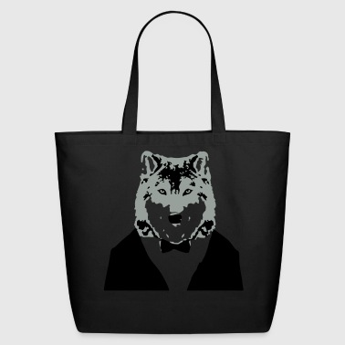 Wolf - Eco-Friendly Cotton Tote