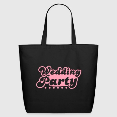 wedding party in pink - Eco-Friendly Cotton Tote