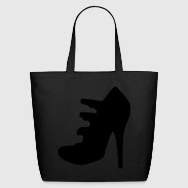 Vector highheels Silhouette - Eco-Friendly Cotton Tote
