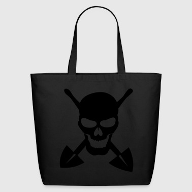 grave digger - Eco-Friendly Cotton Tote