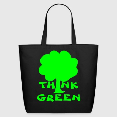think green - Eco-Friendly Cotton Tote