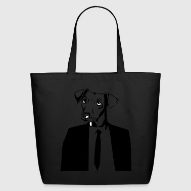 DOG IN SUITE - Eco-Friendly Cotton Tote