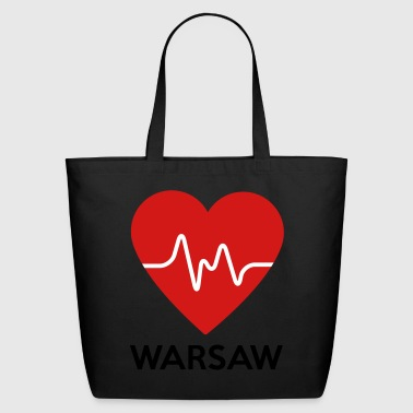 Heart Warsaw - Eco-Friendly Cotton Tote