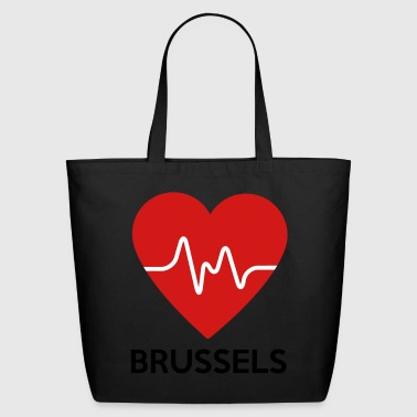 Heart Brussels - Eco-Friendly Cotton Tote