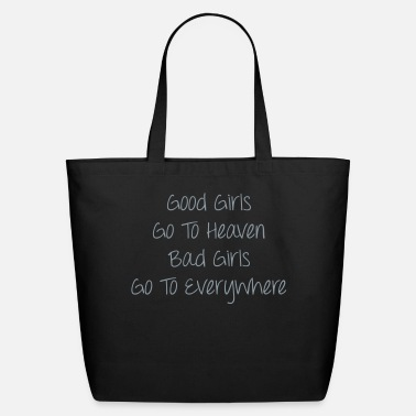 Bad Good Girls vs Bad Girls - Eco-Friendly Cotton Tote