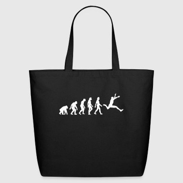 The Evolution Of Long Jump - Eco-Friendly Cotton Tote