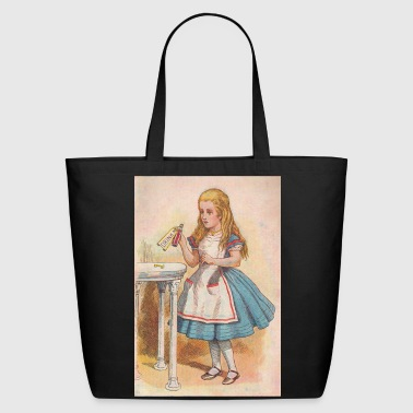 Drink me - Alice in Wonderland - Eco-Friendly Cotton Tote