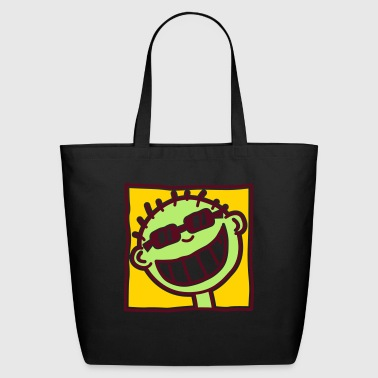 A Grinning Tourist - Eco-Friendly Cotton Tote