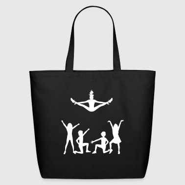 A Group Of Cheerleaders - Eco-Friendly Cotton Tote