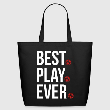 Best Play Ever Football - Eco-Friendly Cotton Tote