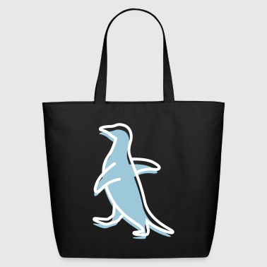 A Waddling Penguin - Eco-Friendly Cotton Tote