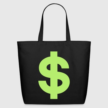 US Dollar Sign - Eco-Friendly Cotton Tote