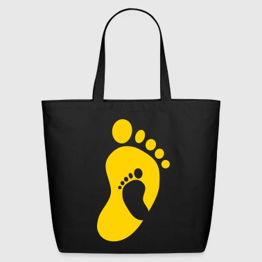 Baby Feet in Feet - Eco-Friendly Cotton Tote