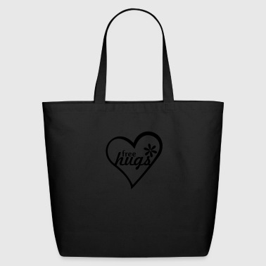 free hugs (1c) - Eco-Friendly Cotton Tote