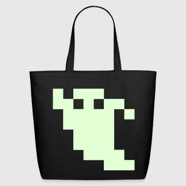 Pixel Ghost - Eco-Friendly Cotton Tote