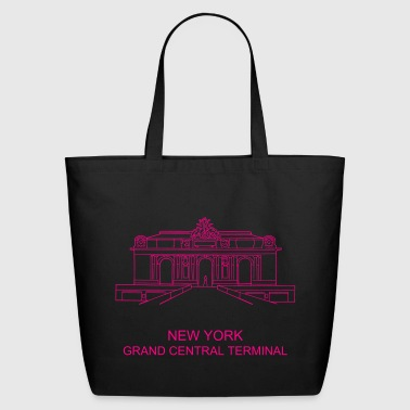 Grand Central Terminal New York - Eco-Friendly Cotton Tote
