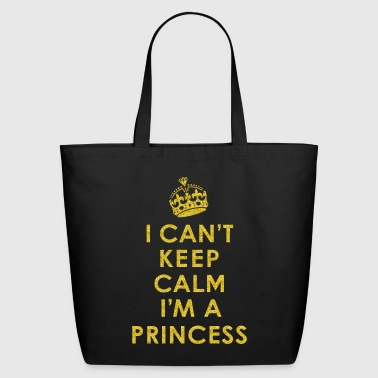Calm Gladditudes Keep Calm / Princess - Eco-Friendly Cotton Tote